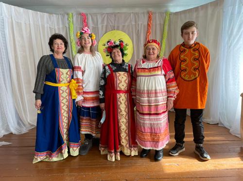В селе Андреевка отпраздновали Масленицу песнями, шутками и конкурсами