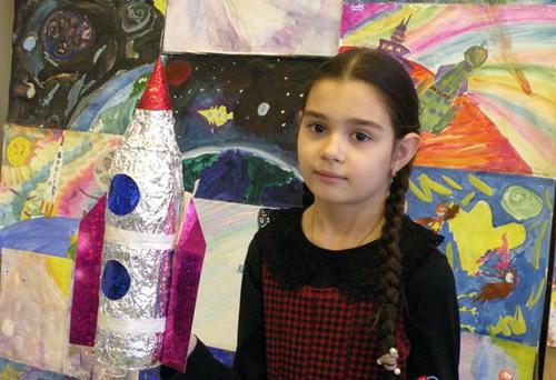 В селе Андреевка жители приняли участие в конкурсе «Космические фантазии»