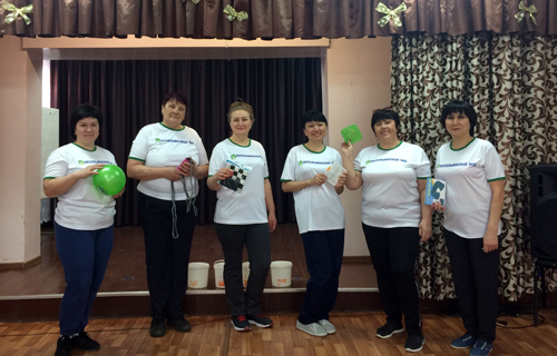 В поселке Головановский на мероприятии ко Дню здоровья победила дружба